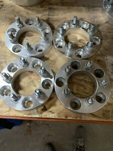 4 Used 1 5x114 3 5x4 5 To 5x100 Wheel Adapters 5 Lug Spacers