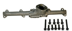 New 1965 1967 Mustang Exhaust Manifold 200 Six 6 Cylinder 1 3 4 With Bolts