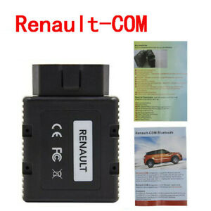 Renault com Bluetooth Diagnostic Programming Tool For Renault Can Clip Vehicles