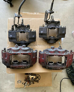 1990 1996 Nissan 300zx 30mm Iron Front Rear Brake Calipers Sumitomo S13 S14