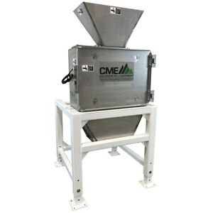 New Cme Stainless Steel 3hp Hammermill Grinder Usa Made Hemp Hops Feed Corn