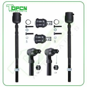 91 1995 Fits Dodge Caravan 6pc Front Inner Outer Tie Rod Ends Lower Ball Joints