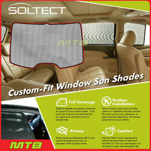 Custom fit Maxpider S1hy0715 For Elantra 4dr 17 20 Soltect Sunshade Rear Window