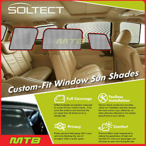 Custom fit Maxpider S1mn0131 For Clubman 2016 2020 Soltect Sunshade Side Windows