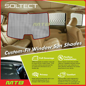Custom fit Maxpider S1sb0145 For Legacy 2015 2018 Soltect Sunshade Rear Window
