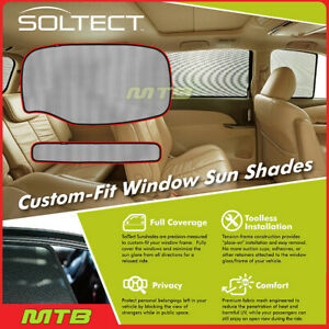 Custom fit Maxpider S1ty2095 For Toyota Prius 16 20 Soltect Sunshade Rear Window