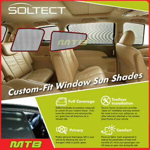 Custom fit Maxpider S1ty2231 For Toyota C hr 18 20 Soltect Sunshade Side Windows