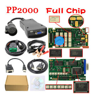 Pp2000 Full Chip Lexia3 Diagbox V7 83 Nec Diagnostic Scanner For Citroen Peugeot