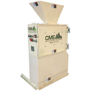 New Cme 3hp Auger Base Hammer Mill Grinder Made In Usa Hemp Hops Feed Corn