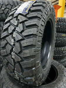 4 New 33x12 50r20 Fury Off Road Country Hunter M t2 Mud Tires 33 12 50 20 R20 E