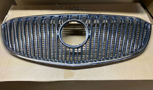 Front Upper Chrome Grill Bumper For 2014 2015 2016 Buick Lacrosse 90766426