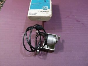 Nos Pontiac 1965 Gto Back Up Switch 3 Speed Standards With Consoles 18