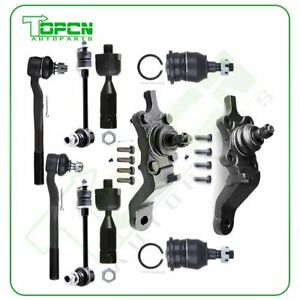 Qty 10 Ball Joint Tie Rod End Sway Bar Link Kit Fits 1996 2002 Toyota 4runner