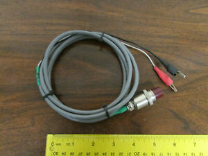 K m 2 pin Female Connector To Alligator Clips Cable 5 foot