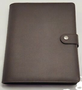 Lux Pro Productivity Best A5 Undated Planner Diary Organizer Chocolate Brown
