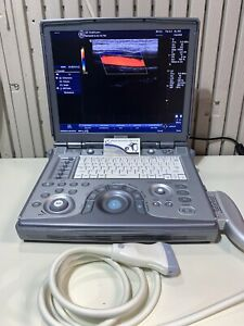 Ge Logiq E Ultrasound Machine With 2 Transducers 4c rs Convex 8l rs Linear