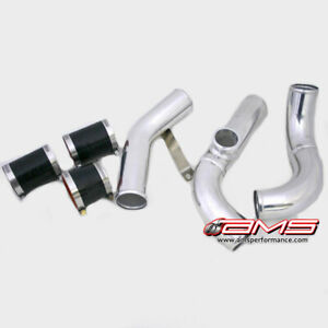 Ams Upper Ic Stock Style Pipe W Tial Bov Flange For Mitsubishi Evo 7 8 9