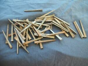 Lot Of 59 Old Find Vintage Nos Unused Rusted Square Cut Nails