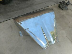 2001 2011 Ford Ranger Oem Stainless Steel Engine Skid Plate Shield