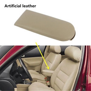 Beige Leather Armrest Cover Lid Fit For Vw Jetta Bora Golf Mk4 Passat 1999 2005