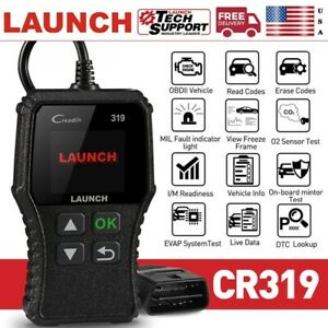 Launch Cr319 Obd2 Can Car Engine Code Reader Scanner For Ford Gm Toyota Bmw Benz