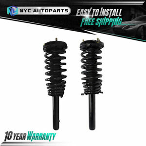 Pair Front Strut Spring For 2000 2001 2002 2003 Acura Cl Tl 1998 2002 Accord