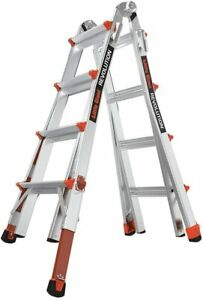 New Little Giant Revolution Alum 4 In 1 Ladder M17 Type Ia 300lbs W Levelers