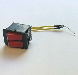 2 Each Leister 110 570 Illuminated Rocker Switch With Resistor Hotwind S