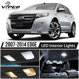 2007 2014 Ford Edge White Interior Led Lights Package Kit License Lights