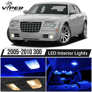 2005 2010 Chrysler 300 Blue Led Lights Interior Package Kit
