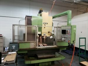 Used Mori Seiki Mv 40 Cnc Vertical Machining Center Mill Fanuc 6m Ct40 22x16 82