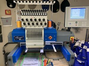 Zsk Embroidery Machinethe Sprint 6 Is A 12 needle Single Head Class 4 Style