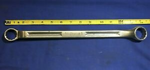 1960 Snap on 1 15 16 Offset Box Wrench Xv 3032 No Owner Marks