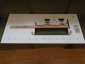 Industrial Sewing Machine Laminated Table Top With 7 1 8 X 20 1 2 Hole
