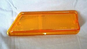 New Triumph Tr6 Passenger Side Right Front Turn Signal Lens