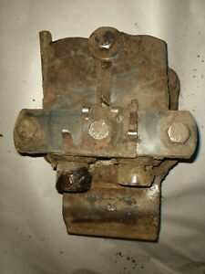 Hydraulic Remote Bracket With Remotes John Deere 3010 4010 Tractor