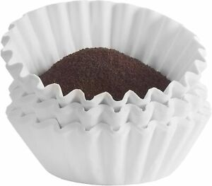 Commercial Large Coffee Filters 12 cup Coffee Filters 500 count Chlorine Fre