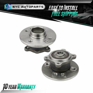 Pair Rear Wheel Hub Bearing For 2007 2008 2009 2010 2011 2012 2015 Mini Cooper