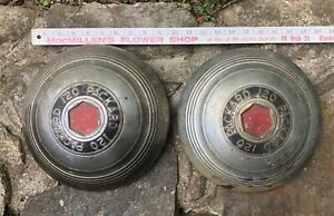 1940 s 1950 s 2 Packard 120 Hubcaps Wheelcover Dogdish 10