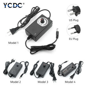 Regulated Power Supply Adapter Charger Multi voltage Ac dc 1 24 3 12 9 24v Us eu