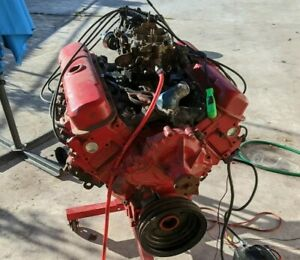 Pontiac 301 Small Block Engine Fully Running Free Shipping Obo