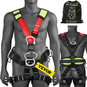 Safety Climbing Harness Body Fall Protection Rock Tree Rappelling Harness Gear