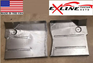 1961 71 Dodge Sweptline Truck Front Floor Pan Pair