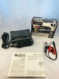 Schumacher 1 Amp Slow Charge Battery Charger 6 12 Volt Model Mc 1