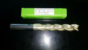 3 4 Helical 3 Flute 4 Length Of Cut 060 Cornder Radius Zplus Coated End Mill