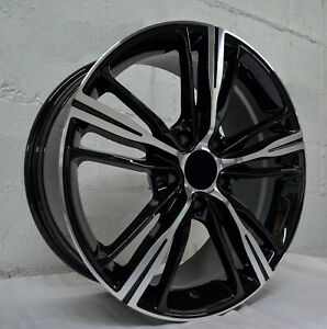 18 Inch Black Machined Rims Fits Bmw 323is 1998 1999 Set 4 Wheels