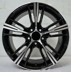 18 Inch Black Machined Rims Fits Et30 Acura Mdx