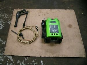 Greenworks 120v Electric 1500psi Pressure Washer W Accessories Model 51142