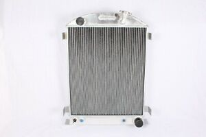 New 3 Row Aluminum Radiator For Chevy Engine Ford Grill Shells 1933 1934