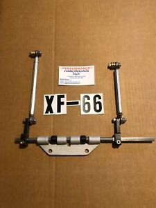 Linkage Kit That Fits The Edelbrock Xf 66 F e Ford 2x4 Cross Ram